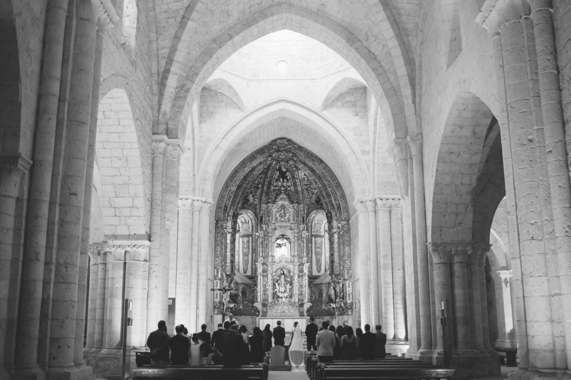 Ceremonia en Iglesia de Valbuena