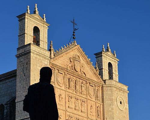 Fachada de la catedral de San Pablo de Valladolid