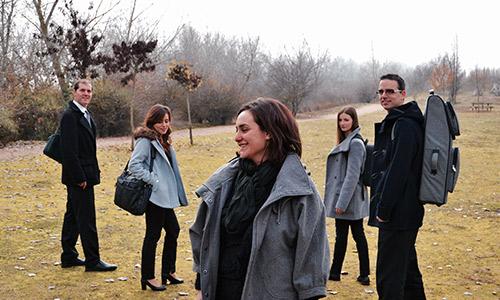 grupo de música Cuarteto Scherzo