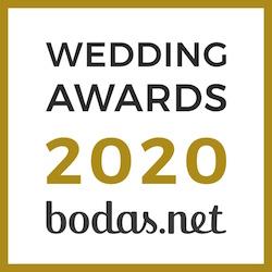 premio bodas.net para Scherzo en 2020